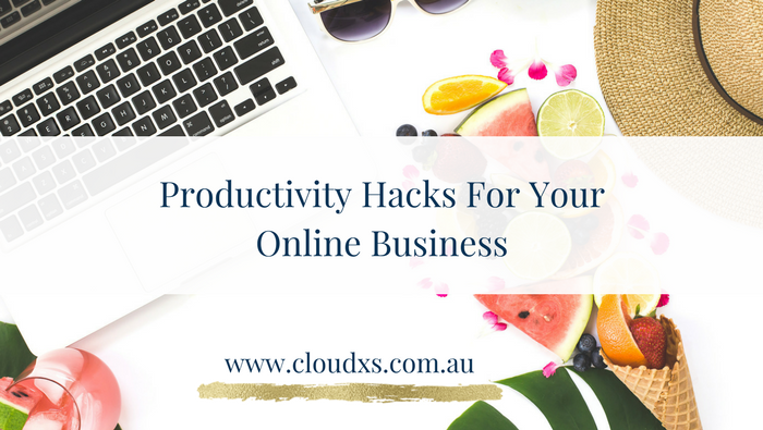 Productivity Hacks For Your Online Business