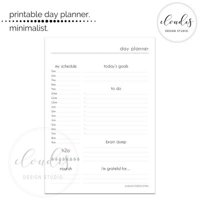 Day Planner - Minimalist