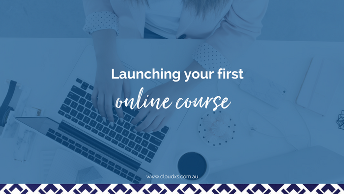 Launching your first online course